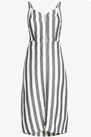 SUPER DRY Sukienka z wycięciem biały-szary