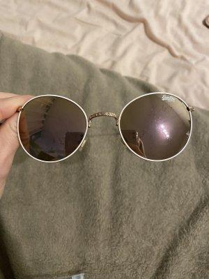 Superdry Okrągłe okulary przeciwsłoneczne złoto