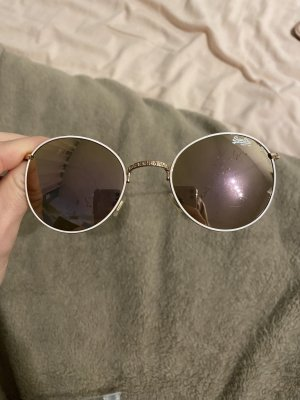 Superdry Round Sunglasses gold-colored