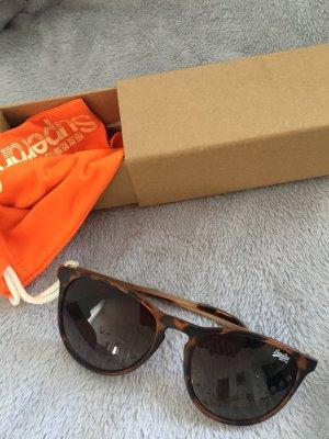 Superdry Okrągłe okulary przeciwsłoneczne brązowy