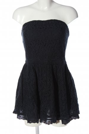 Superdry Kanten jurk zwart elegant