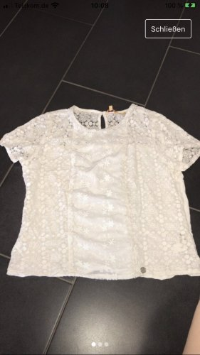 Superdry Transparent Blouse natural white