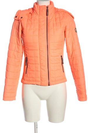 Superdry Chaqueta acolchada naranja claro estampado acolchado look casual