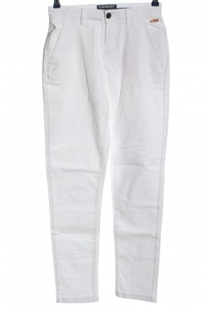 Superdry Jersey Pants white casual look