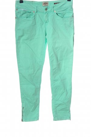 Superdry Jersey Pants turquoise casual look