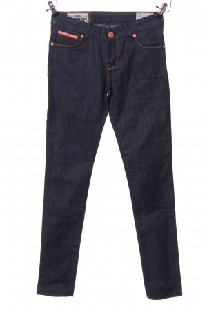 Superdry Straight-Leg Jeans blau Casual-Look