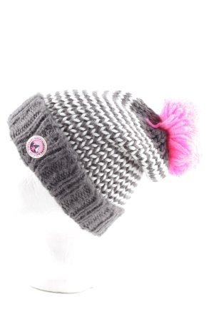 Superdry Chapeau en tricot imprimé avec thème style décontracté