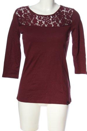 Superdry Strickshirt rot Casual-Look