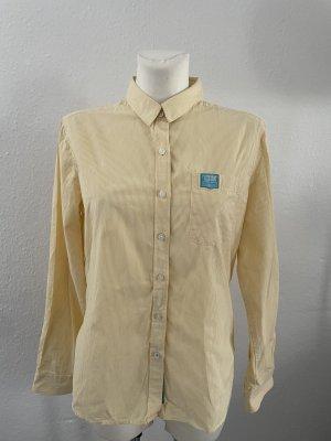 Superdry super shirt gelb Bluse gr L