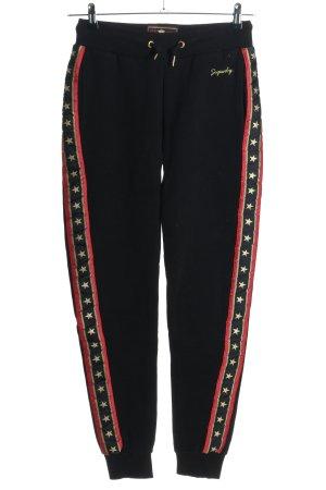 Superdry Pantalon de jogging multicolore style décontracté
