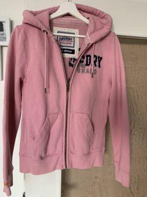 Superdry Sweat Jacket pink-light pink