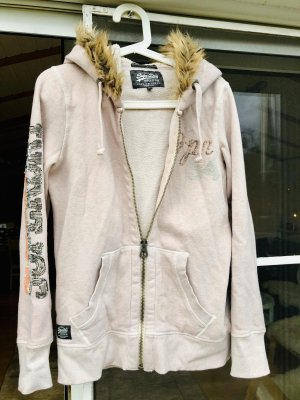 Superdry Sweat Jacket dusky pink
