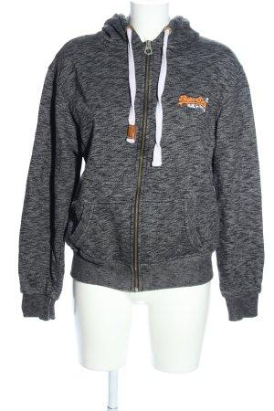 Superdry Sweat Jacket light grey cotton