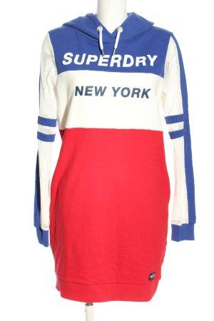 Superdry Sweatkleid Motivdruck Casual-Look
