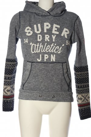 Superdry Sweatshirt Allover-Druck Casual-Look