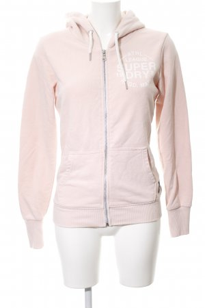 Superdry Sweatshirt pink Motivdruck Casual-Look