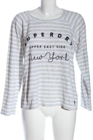 Superdry Sweatshirt Schriftzug gedruckt Casual-Look