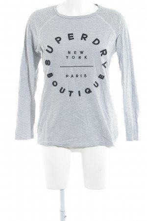Superdry Sweatshirt Schriftzug gestickt Casual-Look