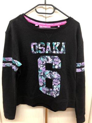 SuperDry Sweatshirt schwarz Größe xs