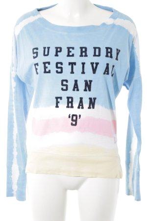 Superdry Sweatshirt Streifenmuster Casual-Look