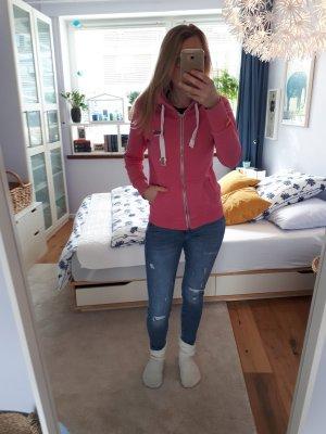 Superdry Sweatshirtjacke pink