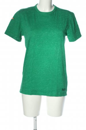 Superdry T-Shirt grün Casual-Look