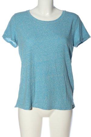 Superdry T-Shirt blau Casual-Look