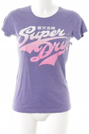 Superdry T-Shirt mehrfarbig Casual-Look