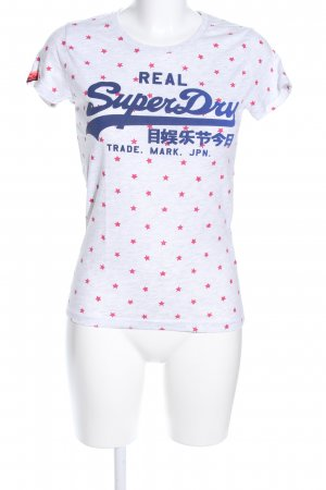Superdry T-Shirt Allover-Druck Casual-Look