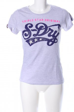 Superdry T-Shirt Motivdruck Casual-Look