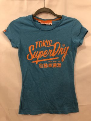 SuperDry T-Shirt Blau XS