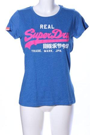 Superdry T-Shirt Schriftzug gedruckt Casual-Look