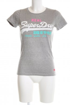 Superdry T-Shirt meliert Casual-Look