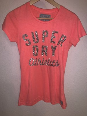 Superdry T-Shirt mit Pailletten