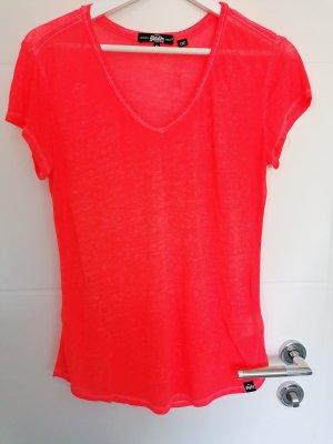Superdry T Shirt V-Ausschnitt