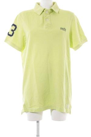 Superdry T-Shirt wiesengrün Casual-Look