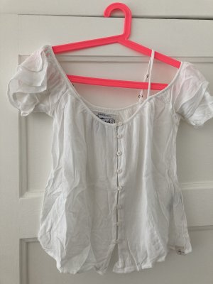 Superdry Top cut-out bianco