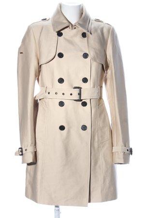 Superdry Trenchcoat blanc cassé style d'affaires