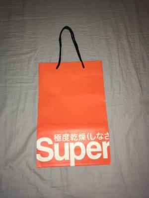 Superdry Torba shopper pomarańczowy neonowy-pomarańczowy