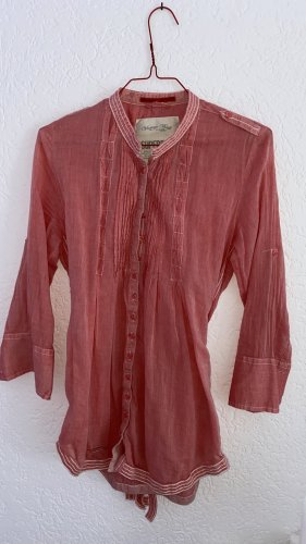 Superdry Tunic Blouse salmon