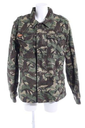 Superdry Übergangsjacke Camouflagemuster Street-Fashion-Look