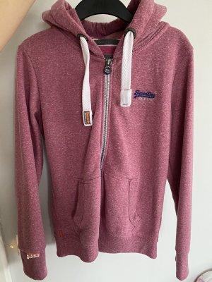 Superdry Capuchon vest magenta-roze