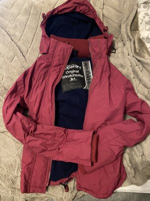 Superdry Giacca a vento bordeaux