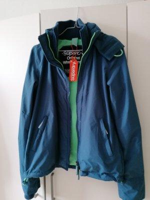 Superdry Between-Seasons Jacket turquoise-petrol