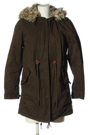 Superdry Kurtka zimowa brązowy W stylu casual