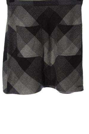 Superdry Gonna di lana grigio chiaro stampa integrale elegante