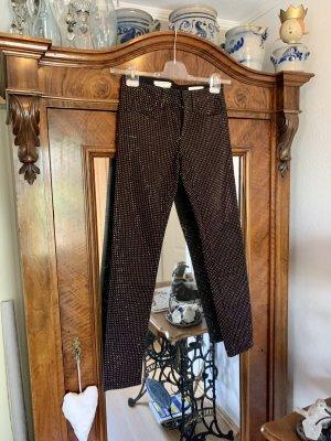 Superedle Skinny Jeans mit Roségold Nieten