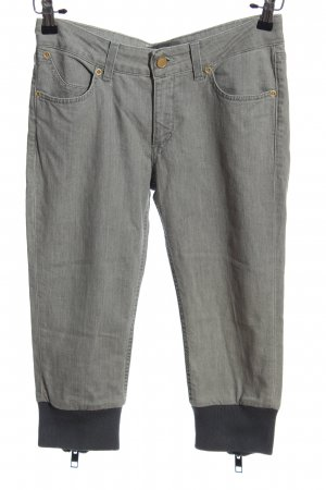 Superfine 3/4-Hose hellgrau Casual-Look