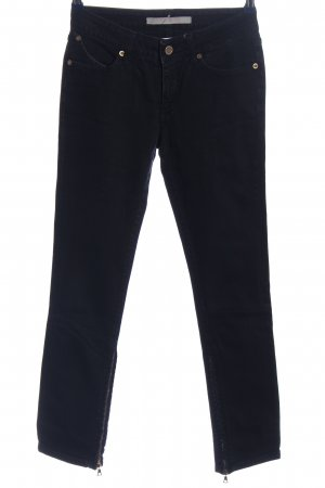 Superfine Jeans 7/8 noir style décontracté