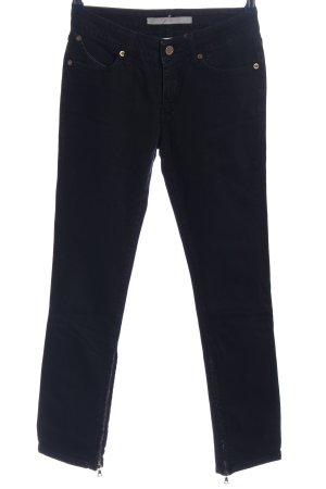 Superfine 7/8 Length Jeans black casual look